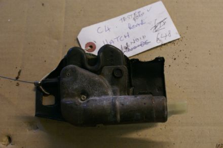 1984 - 1996 Corvette C4 Rear  Hatch Solenoid  used but tested and found good  working order
